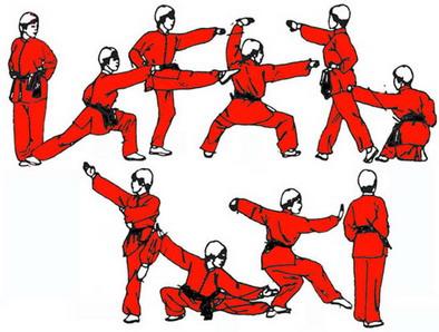 Le kung fu anyda wushu for Kung fu technique de base pdf